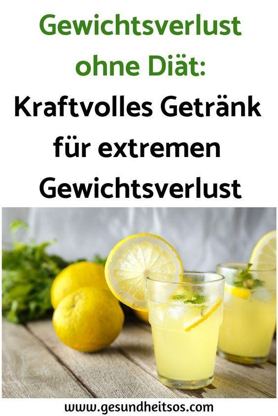 Gewichtsverlust ohne Diät: Kraftvolles Getränk für extremen Gewichtsverlust #…