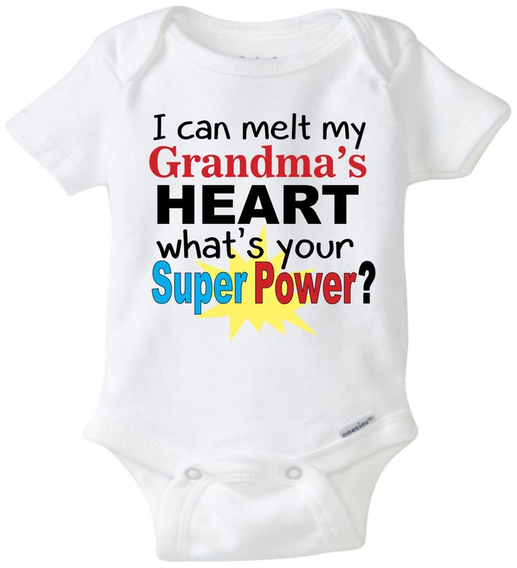 I can melt my Grandma's heart baby onesie Grandma onesie funny baby saying funny onesie baby shower gift unisex baby clothing by mkclassyprints on Etsy