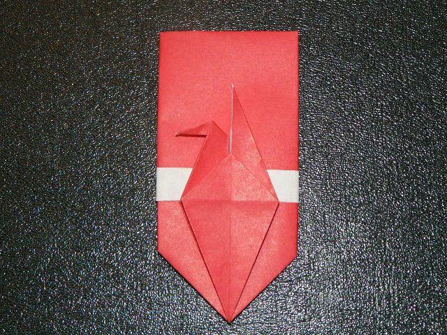 鶴のぽち袋 折り方