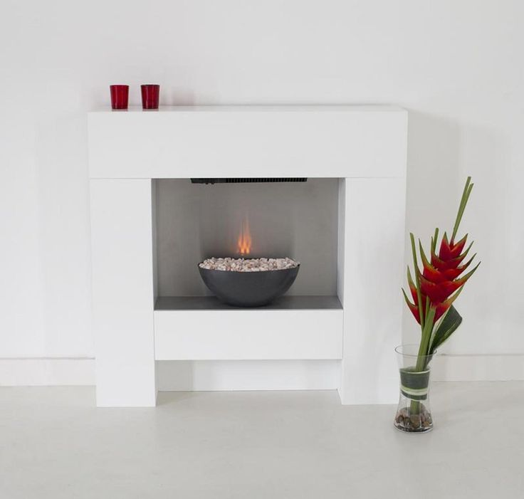 The Cubist Electric Fireplace Suite with Graphite Effect ...