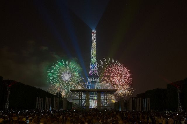 bastille celebration paris