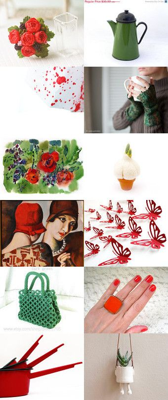 125. bright red by lady lovely on Etsy--Pinned with TreasuryPin.com