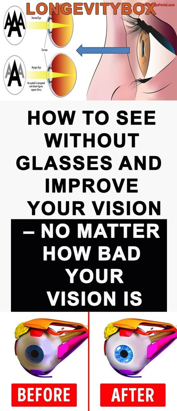 HOW TO SEE WITHOUT GLASSES AND IMPROVE YOUR VISION – NO MATTER HOW BAD YOUR VISION IS!