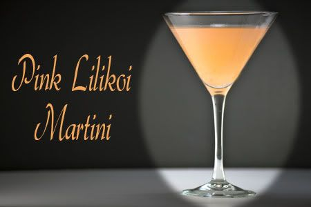 Pink Lilikoi Martini (4 ounces fresh squeezed ruby red grapefruit juice (should equal 1 grapefruit) 2 ounces passion fruit vodka)