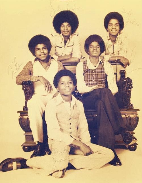 The Jacksons - Tito Jackson, Jackie Jackson, Michael Jackson, Marlon Jackson, and Randy Jackson