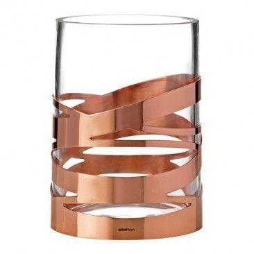 Such a pretty design - like it's wrapped in copper ribbon