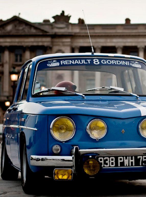 Renault 8 Gordini: particolari.