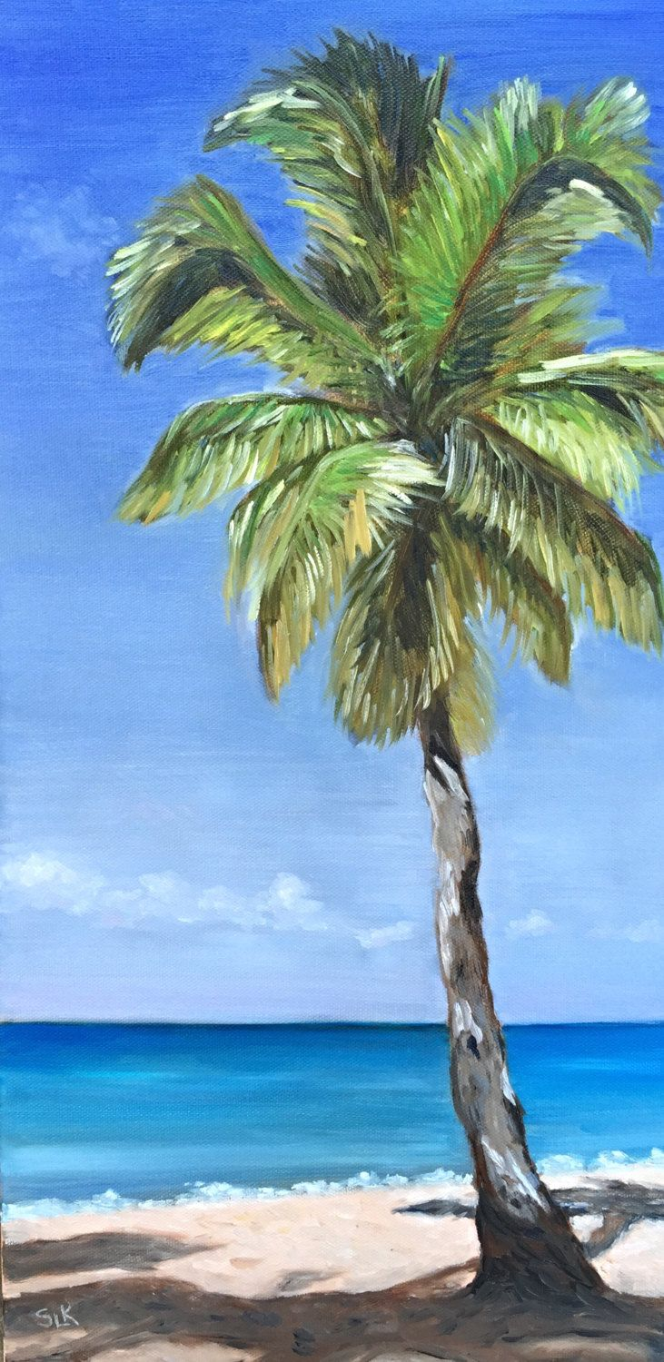 1000 Ideas About Palm Tree Paintings On Pinterest Palm