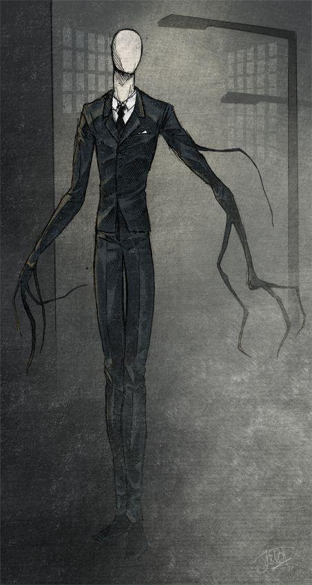 Slender Man by Hoodd.deviantart.com