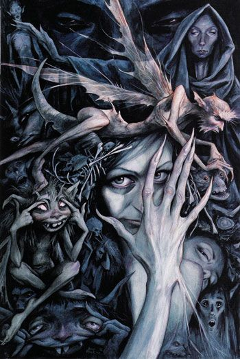 THE CELTIC FAERY PATH OF THE SHAMAN - One Vibration.  Love Brian Froud's work!: