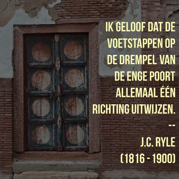 Eén richting - J.C. Ryle (1816 – 1900)
