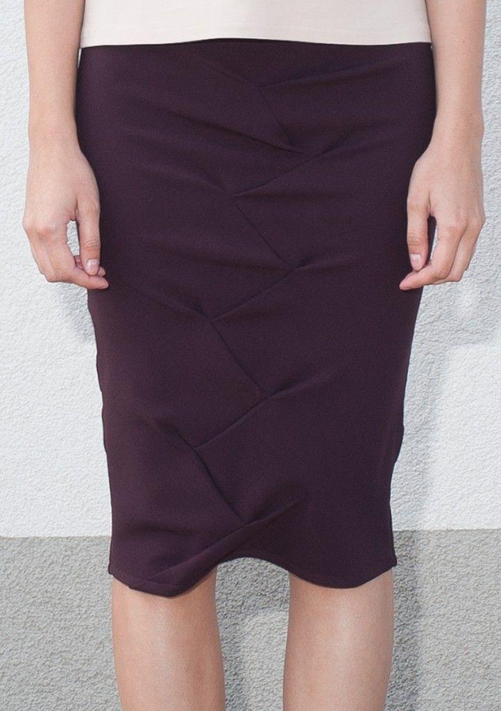 bamboo pattern skirt
