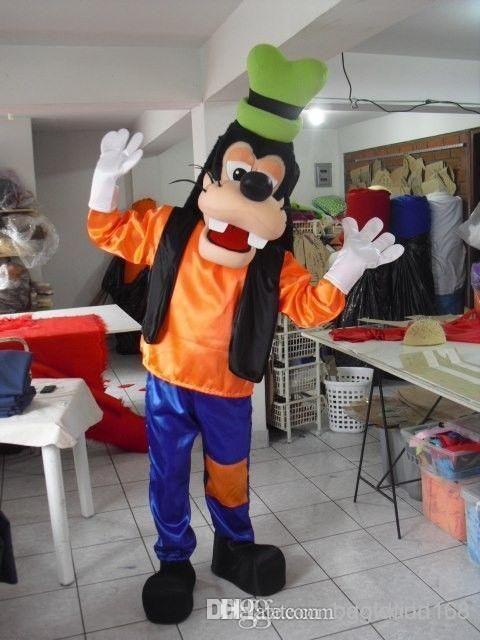 The latest popular goofy dog mascot costume, goofy costumes character