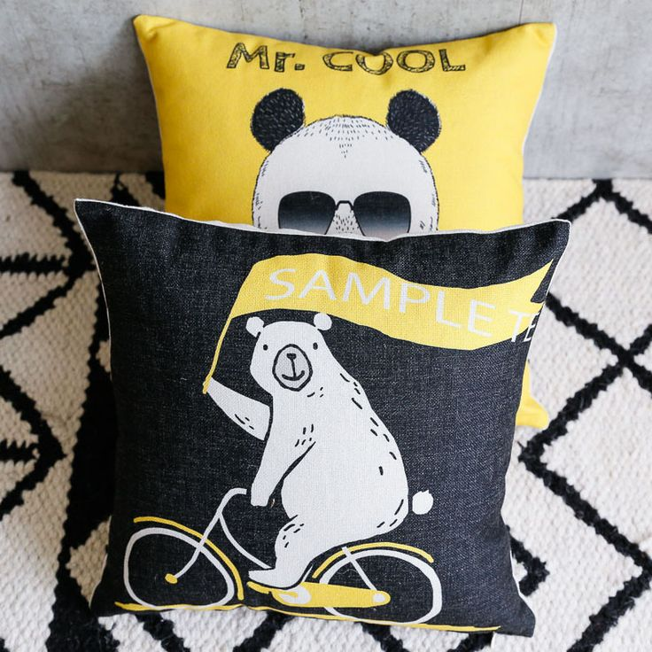 Find More Cushion Cover Information about New Cotton Linen Pillow Cover Cute Animal Panda Bear Deer Cushion Cover Home Decorative Pillow Case Cushion Designs for Sofas,High Quality cushion cover,China designer cushion covers Suppliers, Cheap deer cushion from WK HomeTextiles Store on Aliexpress.com