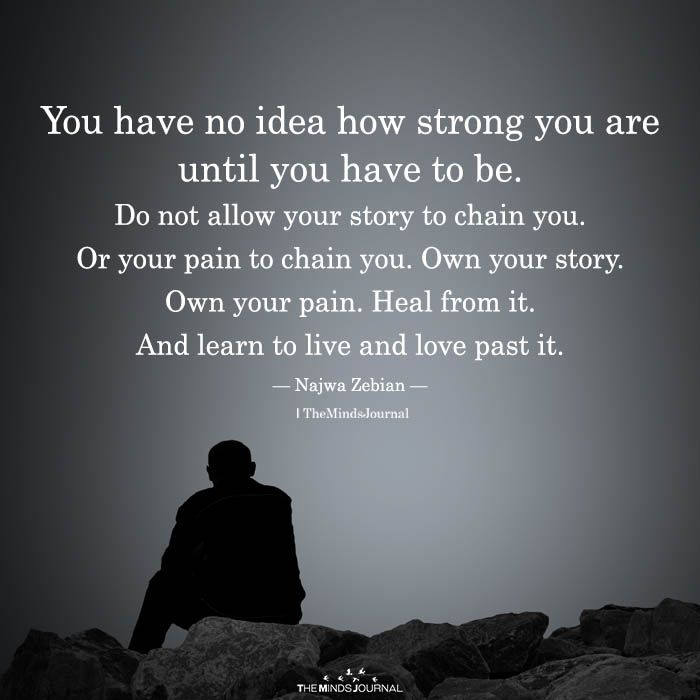 You Have No Idea How Strong You Are Until You Have To Be Unforgettable Quotes You Are Strong Quotes Learn To Love