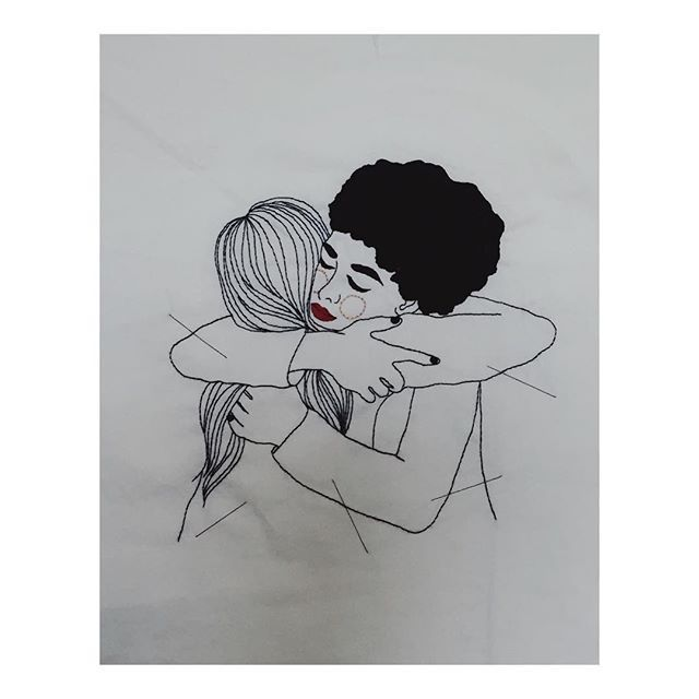 Bordado feito para o GEF- Grupo de Empoderamento Feminino, de estudantes da Usp. Fiquei muito feliz com o convite. Feminismo é acolher, respeitar, dar a mão, não julgar e querer o bem para TODAS as mulheres.  #embroidery #feminism #bordadolivre #bordadoamao #illustration #feminismo #ilustracao #handmade #bordadoamano #girlpower #gisellequinto