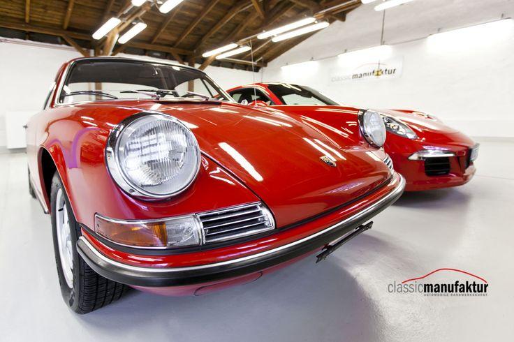 Porsche 911 und 356 Oldtimer Restauration. Die classicmanufaktur