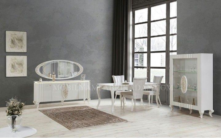 Klasik tasarımı ve şık duruşu ile odalarınıza ihtişam katacak #mobilya #inegöl #mobilya #klasik #tasarım