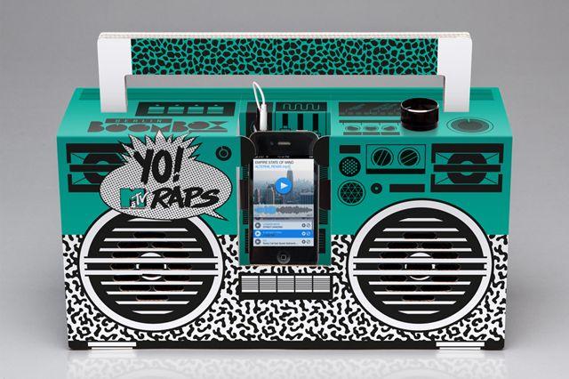 BERLIN BOOMBOX DROPS YO! MTV RAPS PACK | Sneaker Freaker