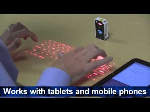 Virtual Laser Projection Keyboard from Cool New Gadgets for Men at http://chezchazz.hubpages.com/hub/cool-new-gadgets-for-men