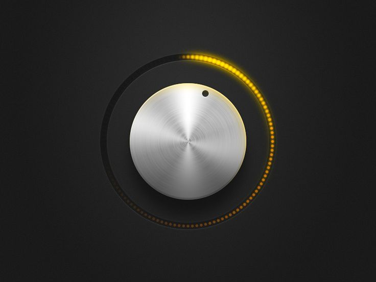 I just add this knob to my site, so if you like it, you can download this PSD freebie here: http://s2dwn.me/g9on