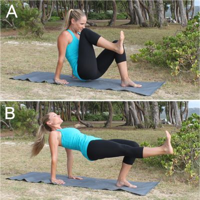 TOP 8 EXERCISES FOR ROUNDED BUTT, BUBBLE BUTT PILATES WORKOUT - YouTube