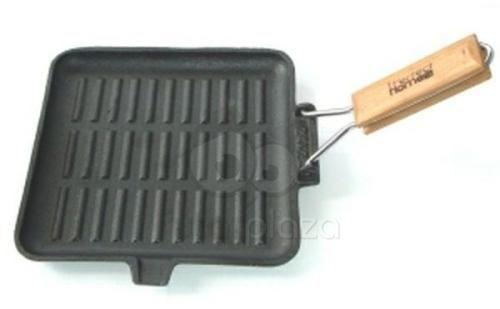 Perfect Home Öntöttvas grill serpenyő szögletes 24cm (10376)