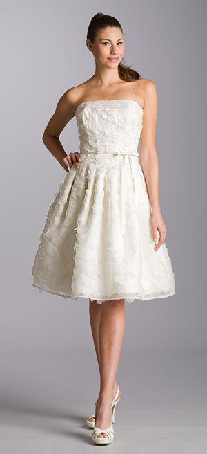 16 best Short Casual Wedding Dresses images on Pinterest
