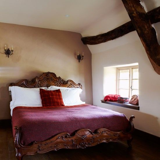 Attrayant Bedroom In 16th Century Cottage Image From House To Home