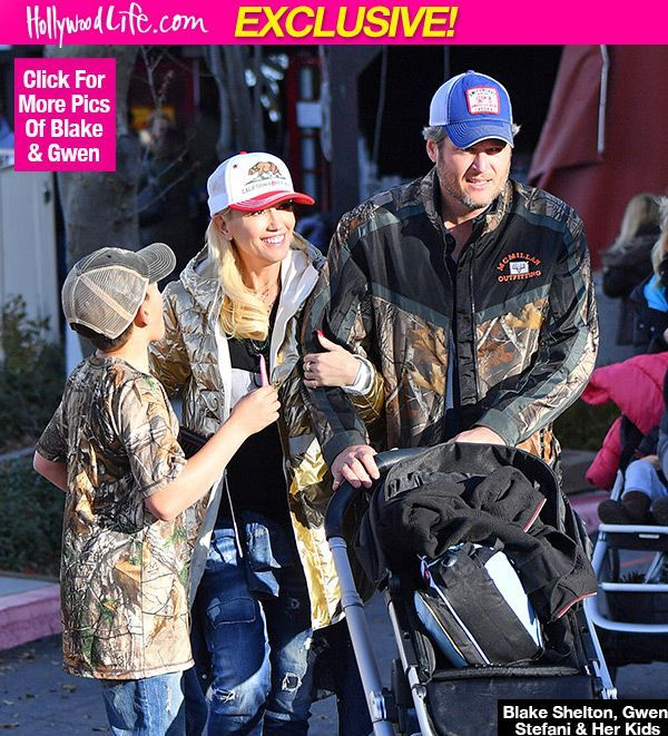 The Special Way Blake Shelton's Spoiling Gwen Stefani's Boys: Feel Like 'A Real Family'