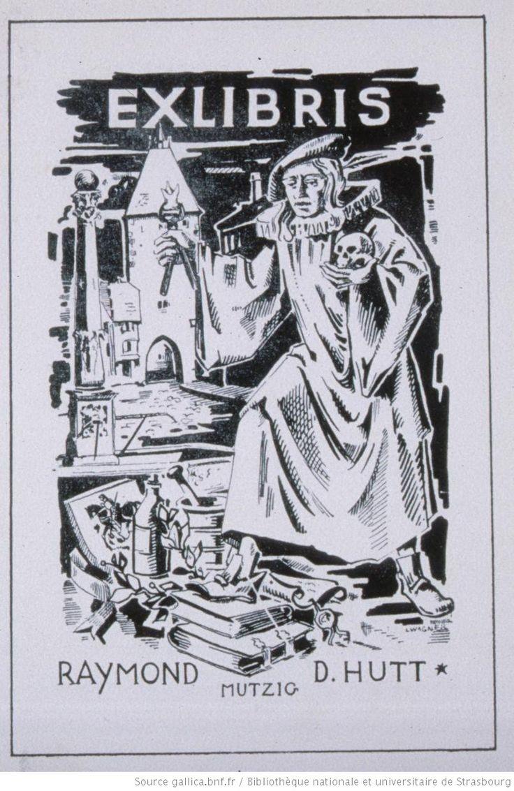 Ex-libris Raymond D. Hutt Mutzig