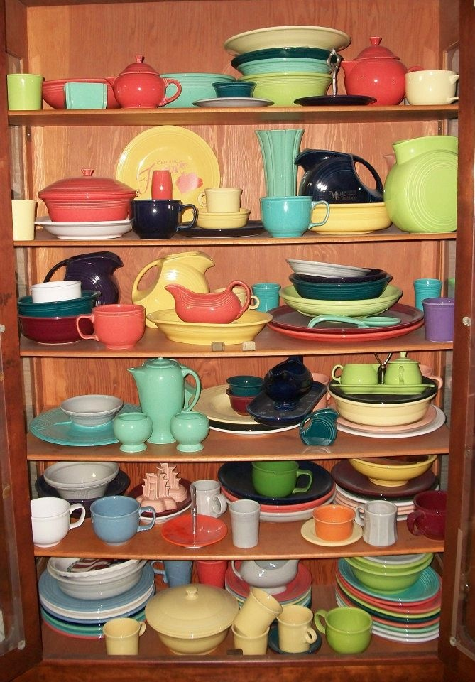 Fiesta Ware collection!