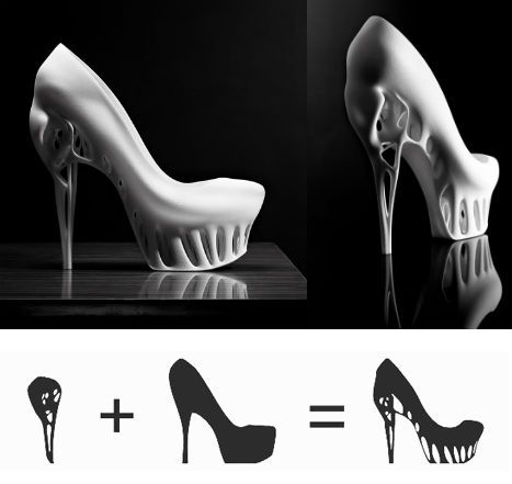 Biomimicry Shoe by Marieka Ratsma and Kostika Spaho.