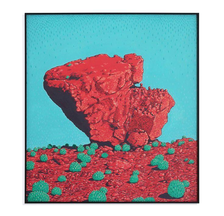 Cederberg Sandstone Formations on Behance
