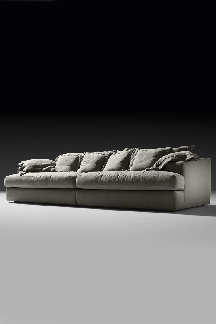 A breath of fresh air in its timeless glamour. The ultimate in contemporary design. An exquisitely modern sofa that would suit both a classic or contemporary interior, the perfect addition to any setting. The Italian Designer Linen Modular Sofa at Juliette's Interiors offers a touch of understated sophistication!