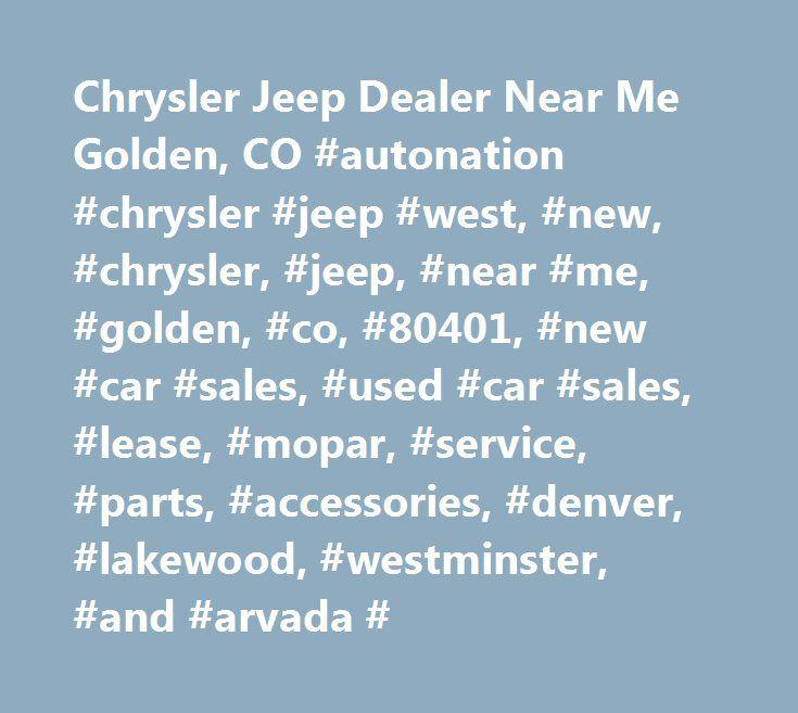25+ Best Ideas About Jeep Dealer On Pinterest