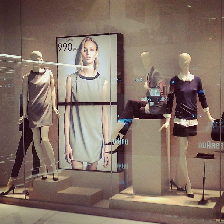 etalage , window display , mango , visual merchandising