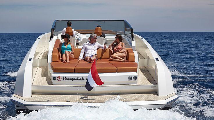 Sport yacht by Vanquish