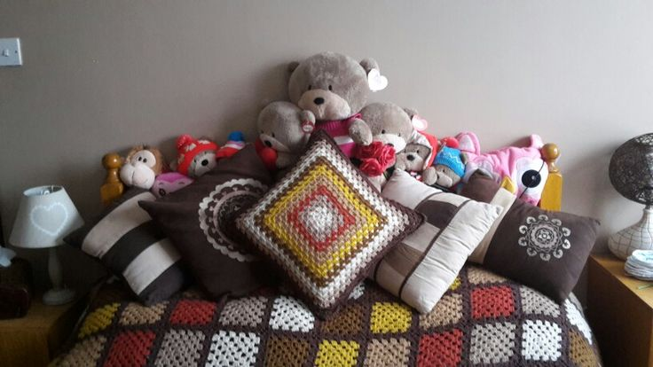 Julies reversable cushion