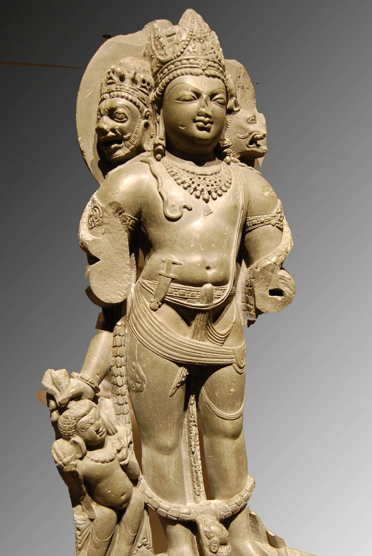 Kala Ksetram — Vishnu Vaikuntha murti, with heads of Varaha and...