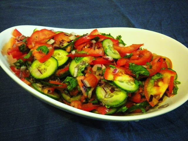 is a common salad eaten in various African countries including Rwanda ...