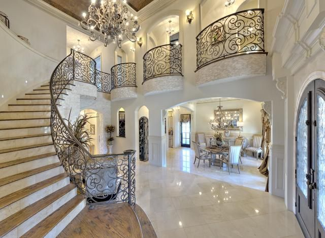 25 best grand entrance ideas on pinterest grand for Foyer staircase ideas