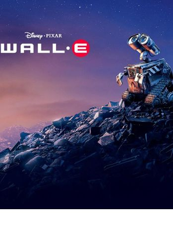 My all-time favorite Pixar movie. I am in love with Wall-E. He is the cutest, most innocent, adorable little thing I have seen! And the scene where he runs over his pet roach, makes me gasp every time:) This is a great film for kids! Rated G:)