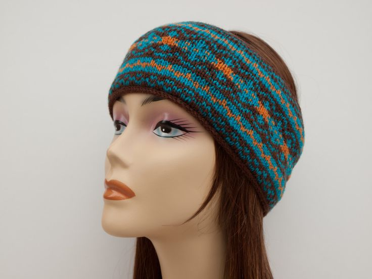 Knit a Fair Isle Headband — Crafthubs