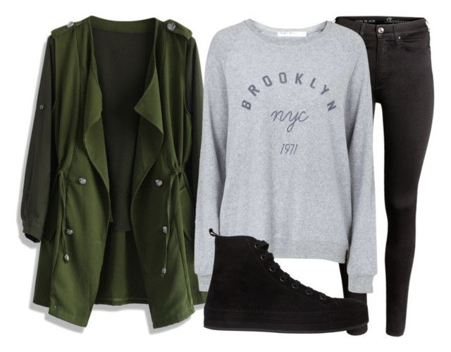 Untitled #120 by mon-holopainen on Polyvore featuring moda, Topshop, Chicwish, H&M and Ann Demeulemeester