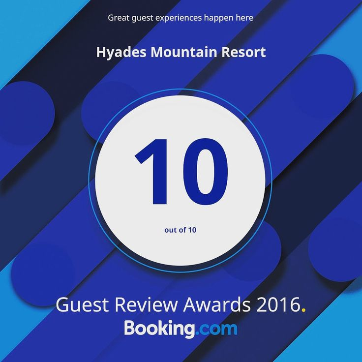 Thanks to all our @bookingcom guests for the great review scores! #guestsloveus