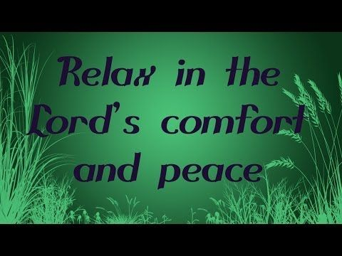 Guided Christian Meditation and Prayer with Bible Verses about Peace (with Relaxing Music) - YouTube