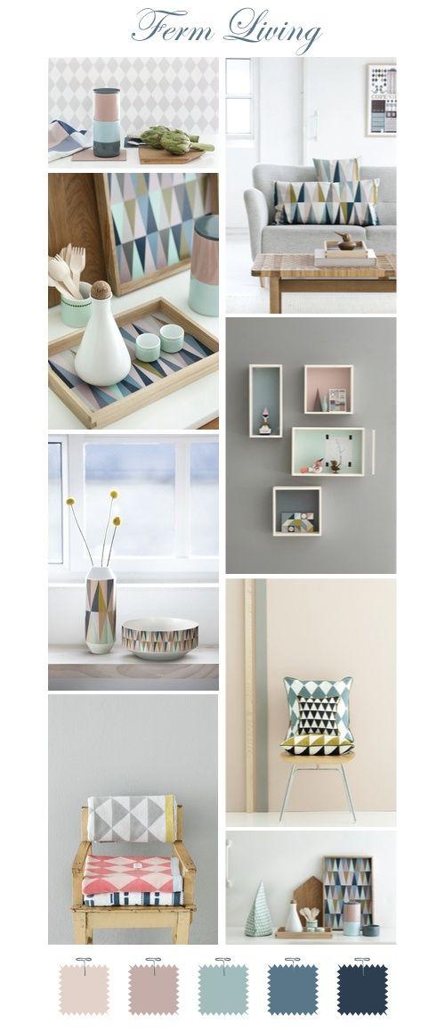 Schoon kleurkes voor de living: lichte kleuren voor een lichte living