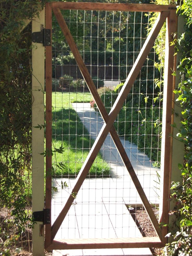 554 best Garden Fence Ideas images on Pinterest | Backyard fences ...