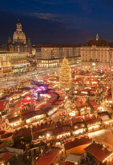 Christmas market Dresden, Germany © Sylvio Dittrich I miss all the…